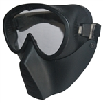 Airsoft Tactical gear wholesale distributor dropshipper TG008BB-5 Black Clear Protective Mask (5 pcs) - 3L-INTL