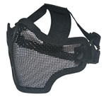 Airsoft Tactical gear wholesale distributor dropshipper TG008CB-5 Black Metal Mesh Half Face Mask (5 pcs) - 3L-INTL
