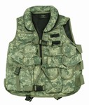 TG102A ACU Digital Camouflage Tactical Vest with Soft Collar - 3L-INTL