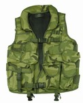 TG102C Woodland Camo Soft Collar Tactical Vest - 3L-INTL
