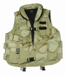 TG102D Desert Camo Tactical Vest with Soft Collar - 3L-INTL