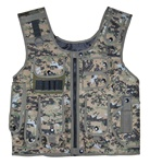 TG106W Woodland Digital Adjustable Quilted Tactical Vest - 3L-INTL
