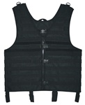 TG107B Black MOLLE Web Tactical Vest - 3L-INTL