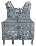 TG107W Woodland Digital MOLLE Web Tactical Vest - 3L-INTL