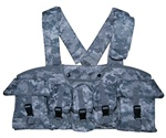 TG115A ACU Digital Camouflage 7-Pouch Chest Rig - 3L-INTL