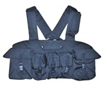TG115B Black 7-Pouch Chest Rig - 3L-INTL