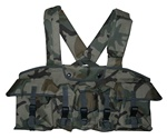 TG115C Woodland Camouflage 7-Pouch Chest Rig - 3L-INTL