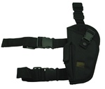 TG204BL-4 Black Elite Tactical Leg Holster Left Handed (4 pcs) - 3L-INTL