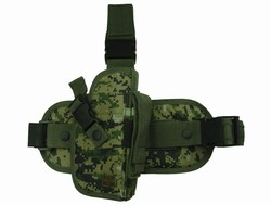 TG207WR Woodland Digital Camouflage Drop Leg Gun Holster Right Handed - 3L-INTL