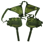 TG208CB-2 Woodland Camouflage Horizontal Shoulder Holsters (2 pcs) - 3L-INTL