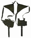 TG208GA OD Green Shoulder Holster with 1 Holster and 1 Magazine Pouch - 3L-INTL