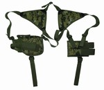 TG208WA Woodland Digital Shoulder Holster with 1 Holster and 1 Clip Pouch- 3L-INTL