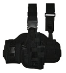 TG221BR Black Tactical Thigh Holster Right Handed - 3L-INTL