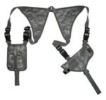TG235AA ACU Digital Universal Horizontal Shoulder Holster with Mag Pouches - 3L-INTL