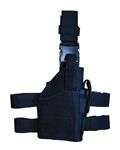 TG246BR Black Tactical Leg Holster with Web Straps Right - 3L-INTL