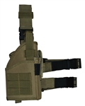 TG246T Tan Tactical Leg Holster with Web Straps - 3L-INTL