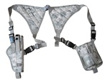 TG255AA ACU Digital Universal Vertical Shoulder Holster with Mag Pouches - 3L-INTL