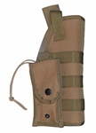 TG259T-2 Tan MOLLE Tactical Holster with Pouch (2 pcs) - 3L-INTL