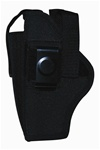 TG260B26-6 Black Ambidextrous Belt Holster with pouch Size 26 (6 pcs) - 3L-INTL
