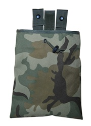 TG271C Woodland Camouflage 3-fold Mag Recovery / Dump Pouch - 3L-INTL