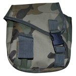 TG308C Woodland Camouflage MOLLE 2QT Canteen Cover - 3L-INTL