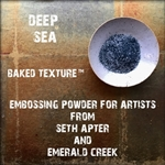 Emerald Creek - Baked Texture Embossing Powder Deep Sea
