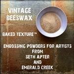 Emerald Creek - Baked Texture Embossing Powder Vintage Beeswax