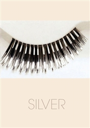 Silver - Fashion Eyelash by Helena Collection