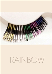 Rainbow - Fashion Eyelash by Helena Collection
