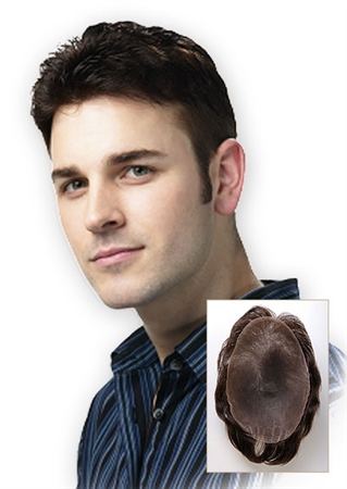 Human Hair Men's Toupees