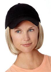 Shorty Hat Black Hairpieces by Henry Margu Wigs