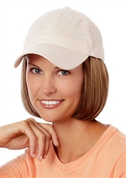 Shorty Hat Beige Hairpieces by Henry Margu Wigs
