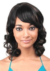 Junee Fashion Human Hair Mix Wigs
