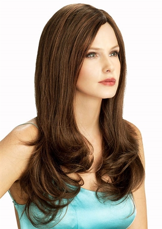 Illusion Front Human Hair Wigs by Louis Ferre
