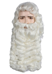 Extra Large Supreme Santa Wig Sets
