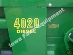 2 John Deere 4020 Side Panel Decals - BEST AVAILABLE!!!
