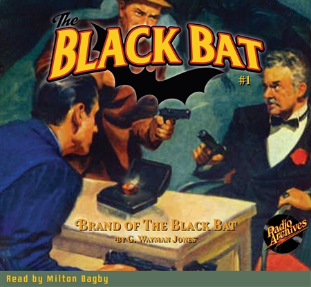 The Black Bat Audiobook - Brand of the Black Bat