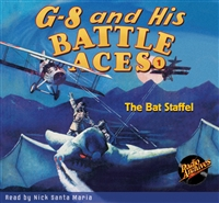 G-8 and His Battle Aces Audiobook - #1 The Bat Staffel