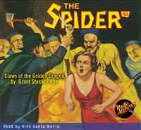 The Spider Audiobook - # 64 Claws of the Golden Dragon