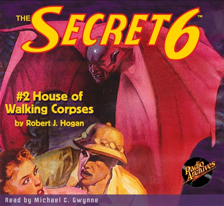Secret 6 Audiobook - #2 House of Walking Corpses