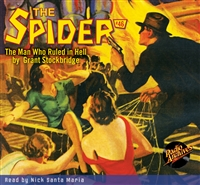 The Spider Audiobook - # 46 The Man Who Ruled in Hell