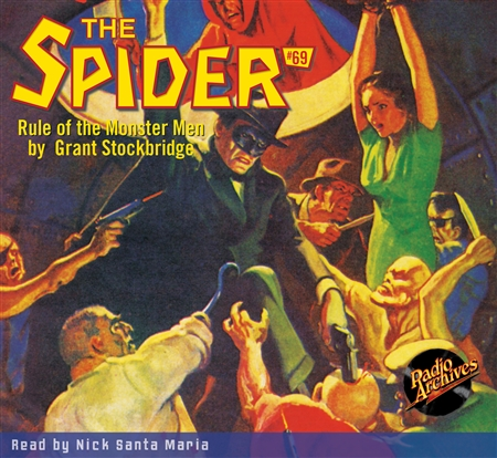 The Spider Audiobook - # 69 Rule of the Monster Men