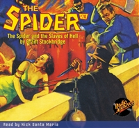 The Spider Audiobook - # 70 The Spider and the Slaves of Hell