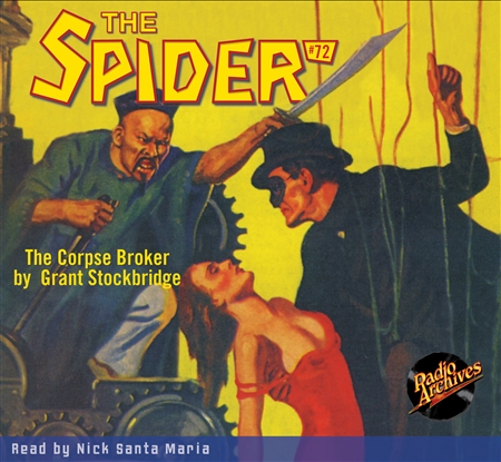 Spider Audiobook - # 72 The Corpse Broker