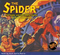 Spider Audiobook - # 73 The Spider and the Eyeless Legion