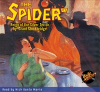 Spider Audiobook - # 12 Reign of the Silver Terror
