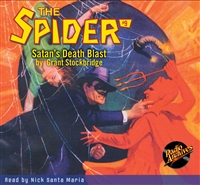 Spider Audiobook - #  9 Satan's Death Blast