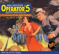 Operator #5 Audiobook - #07 Invasion of the Dark Legion