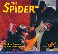 The Spider Audiobook - # 17 The Pain Emperor