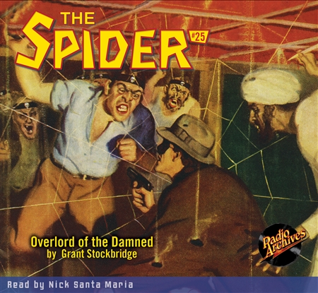 The Spider Audiobook - # 25 Overlord of the Damned